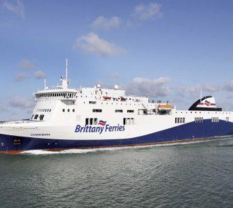 """El ferry """"Connemara"""", que realizará la ruta entre Santander y Cork."""