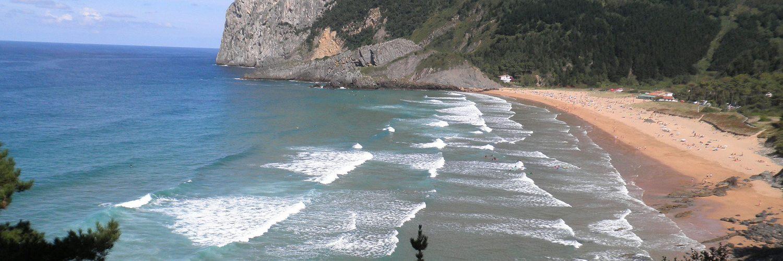 Playa de Laga, Urdaibai, Bizkaia.