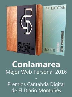 Premios Cantabria Digital de El Diario Montañés.