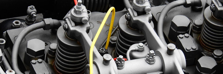 Motor diésel marino.