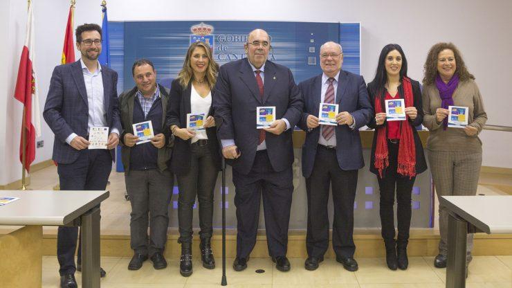 Presentación en rueda de prensa de la I Semana Europea de la Pesca.