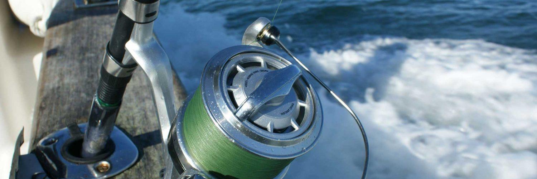 Pesca desde una embarcación.