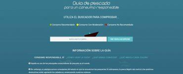 Página web de la Guía de Pescado de WWF.
