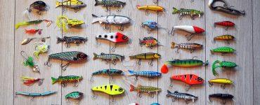 Señuelos clásicos para la pesca deportiva.