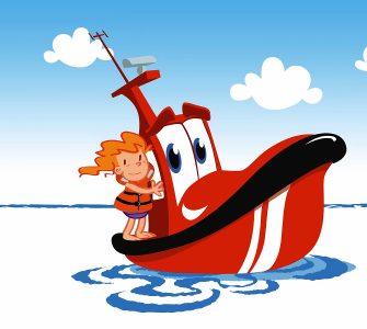 Fotograma del vídeo de la patrulla marítima de Salvamento Marítimo.