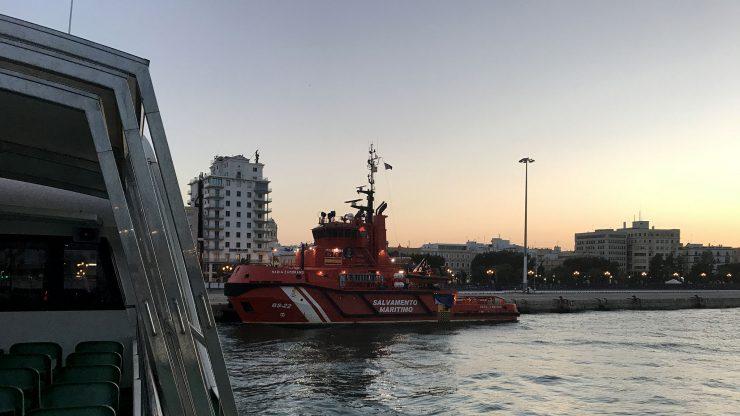 """Remolcador """"María Zambrano"""" de Salvamento Marítimo."""
