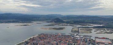 Vista parcial de las marismas de Santoña, Victoria y Joyel.