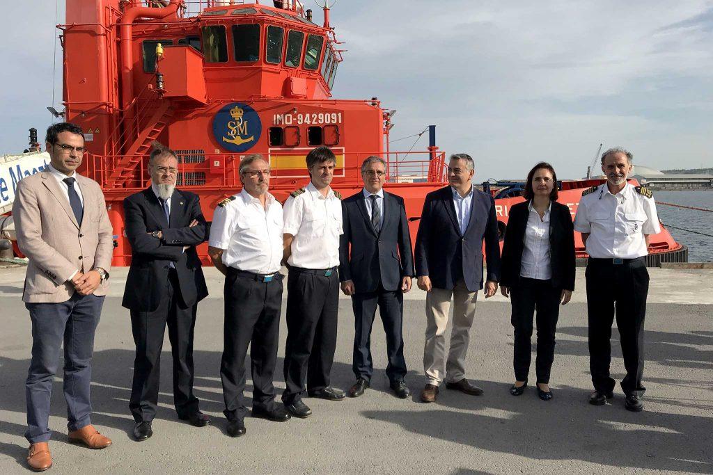 Presentación del balance de Salvamento Marítimo.